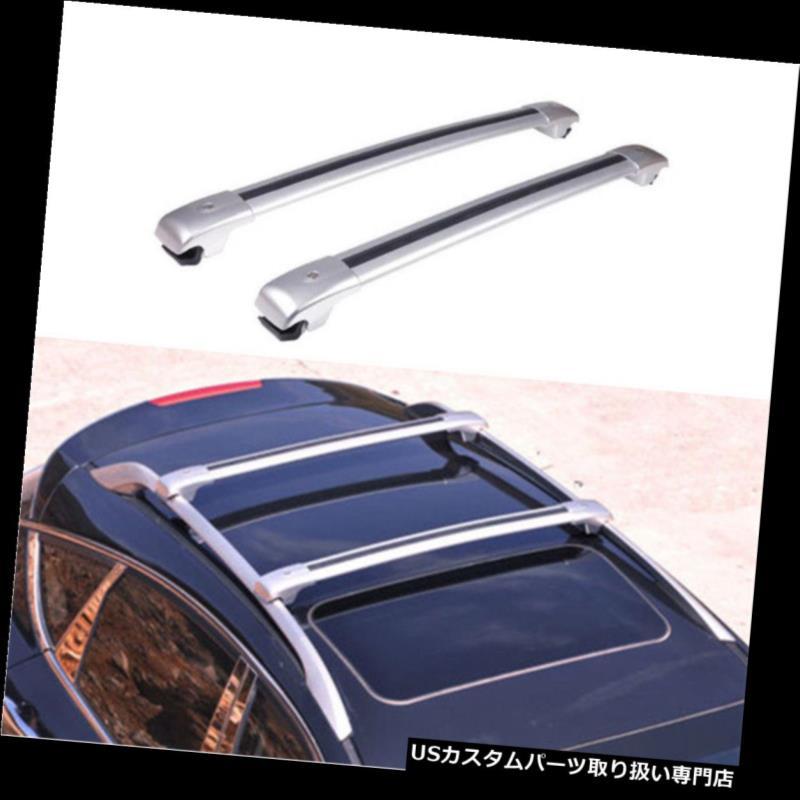 カーゴ ルーフ キャリア 1ペア貨物ルーフラック荷物キャリアフィットベンツGLKシリーズ2010-2015 1Pair Cargo Roof Rack Luggage Carrier Fit For Benz GLK Series 2010-2015