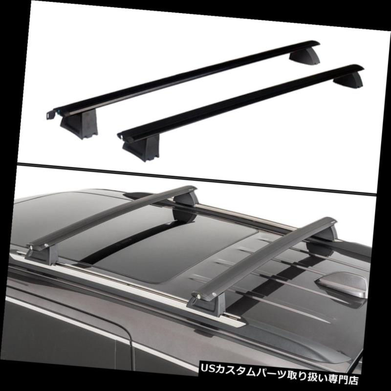 カーゴ ルーフ キャリア 11-18ジープグランドチェロキーOEスタイルルーフラックカーゴ荷物キャリアバーセット For 11-18 Jeep Grand Cherokee OE Style Roof Rack Cargo Luggage Carrier Bars Set