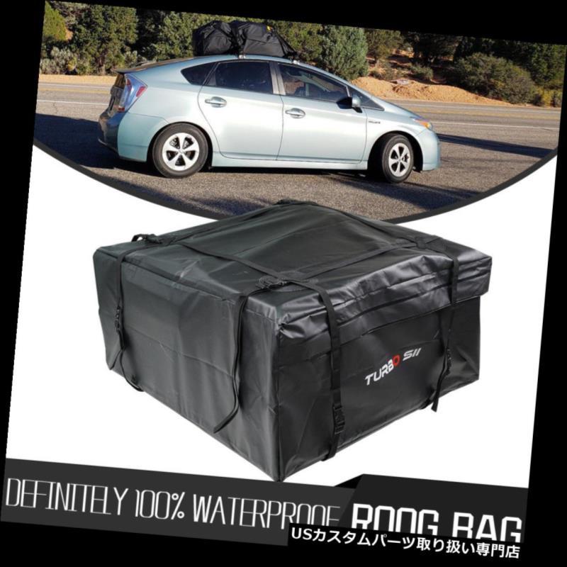 カーゴ ルーフ キャリア 荷物旅行車の収納袋のための黒い防水屋根の上の貨物運搬船 Black Waterproof Roof Top Cargo Carrier For Luggage Travel Car Storage Bag