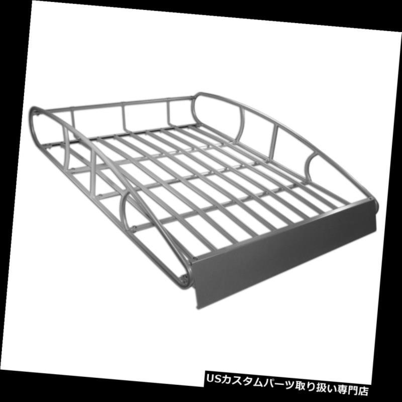 カーゴ ルーフ キャリア ユニバーサルルーフラックカーゴカートップラゲッジホルダーキャリアバスケット Universal Roof Rack Cargo Car Top Luggage Holder Carrier Basket
