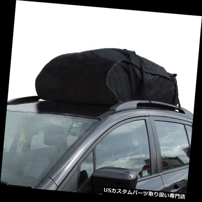 カーゴ ルーフ キャリア ユニバーサルカールーフバッグ防水ラック貨物キャリア荷物収納ツーリングSUV Universal Car Roof Bag Waterproof Rack Cargo Carrier Luggage Storage Touring SUV