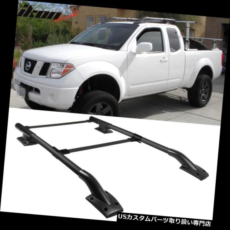 カーゴ ルーフ キャリア 日産フロンティア4Dr OEファクトリースタイルルーフラック2Pc 05-17に適合 Fits 05-17 Nissan Frontier 4Dr OE Factory Style Roof Rack 2Pc