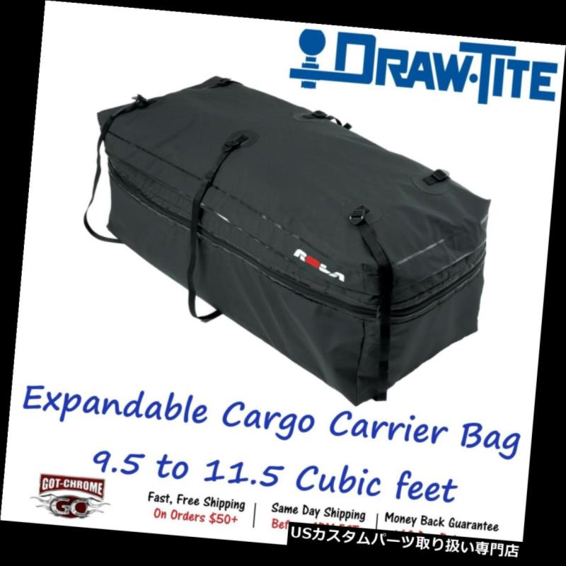 カーゴ ルーフ キャリア 59102 Draw-Tite Wallaroo拡張可能貨物キャリーバッグ9.5?11.5立方フィート 59102 Draw-Tite Wallaroo Expandable Cargo Carrier Bag 9.5 to 11.5 Cubic feet
