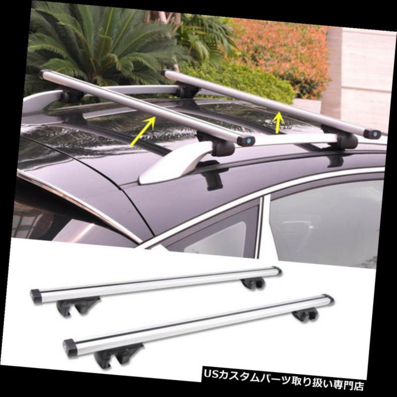 カーゴ ルーフ キャリア メルセデスベンツGLKシリーズ2010-2015年シルバー貨物ルーフトップ荷物キャリアのため for Mercedes Benz GLK Series 2010-2015 Silver Cargo Roof Top Luggage Carrier