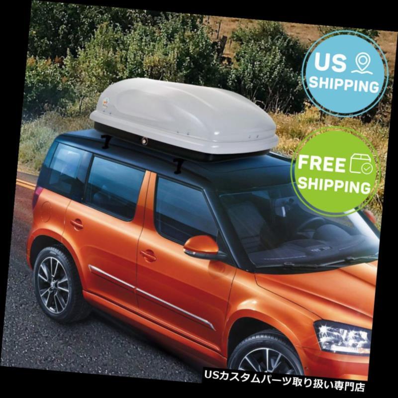 カーゴ ルーフ キャリア ルーフカーゴボックスカートップキャリアマウントトラベル収納荷物ラック7立方フィート Roof Cargo Box Car Top Carrier Mount Travel Storage Luggage Rack 7 Cubic Feet