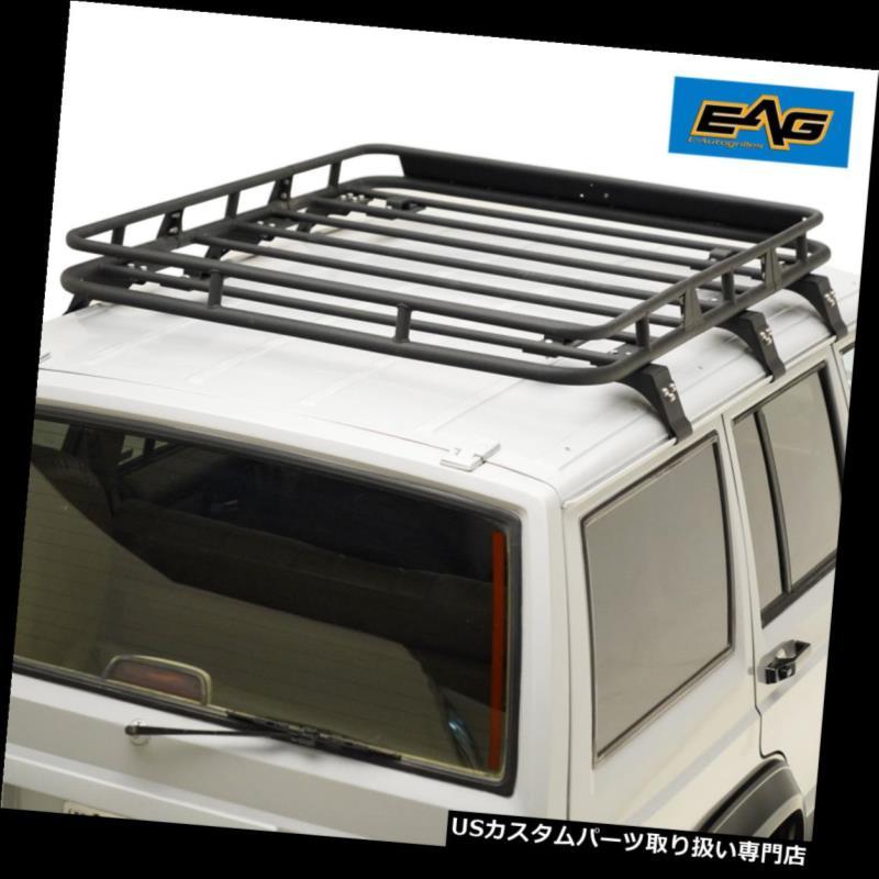 カーゴ ルーフ キャリア EAG 1983-2001ジープチェロキーXJルーフラックカーゴバスケット EAG 1983-2001 Jeep Cherokee XJ Roof Rack Cargo Basket