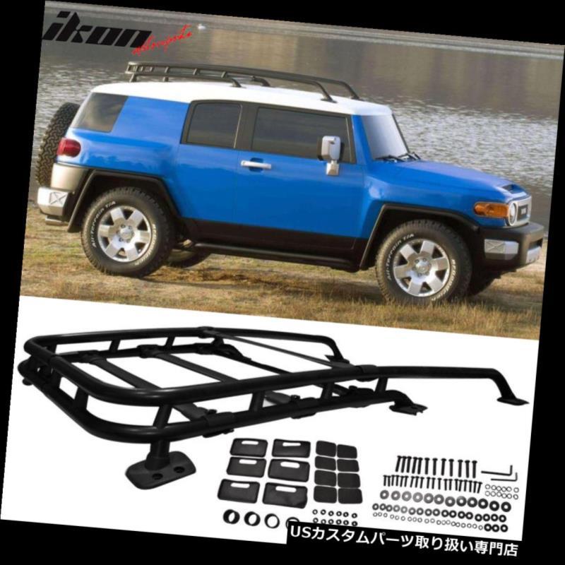 カーゴ ルーフ キャリア 07-14トヨタFjクルーザーOEファクトリースタイルルーフラック - アルミニウムにフィット Fits 07-14 Toyota Fj Cruiser OE Factory Style Roof Rack - Aluminum