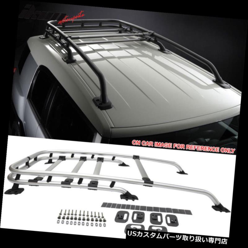 カーゴ ルーフ キャリア ポリッシュ07-14トヨタFjクルーザーOEファクトリースタイルルーフラック Fits 07-14 Toyota Fj Cruiser OE Factory Style Roof Rack Polished