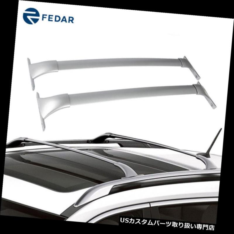 カーゴ ルーフ キャリア 2014-2018日産ローグのためのルーフラッククロスバー貨物キャリア荷物レールラック Roof Rack Cross Bar Cargo Carrier Luggage Rail Rack For 2014-2018 Nissan Rogue