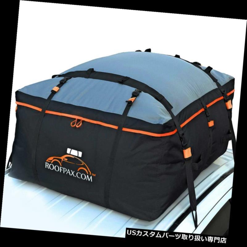 カーゴ ルーフ キャリア 車のルーフバッグと屋上の貨物運搬車?19立方 cフィート、防水 f 4ドアフック付き Car Roof Bag&Rooftop Cargo Carrier?19Cubic Feet,Waterproof 4 Door Hooks Included