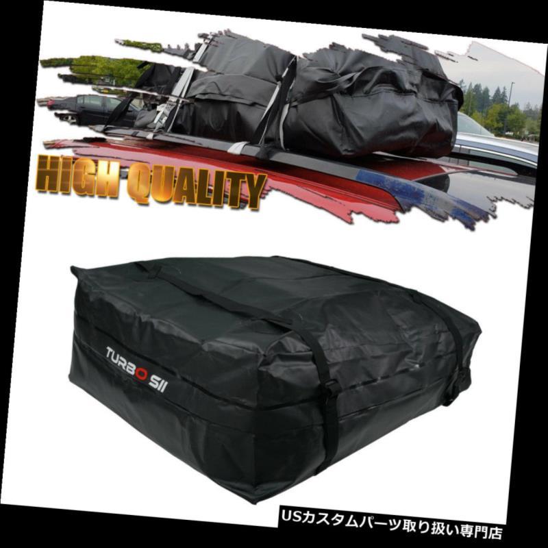 カーゴ ルーフ キャリア 荷物貨物ルーフトップキャリアバッグトラベルラック防水13.5立方フィートブラック Luggage Cargo Roof Top Carrier Bag Travel Rack Waterproof 13.5 Cubic Feet Black