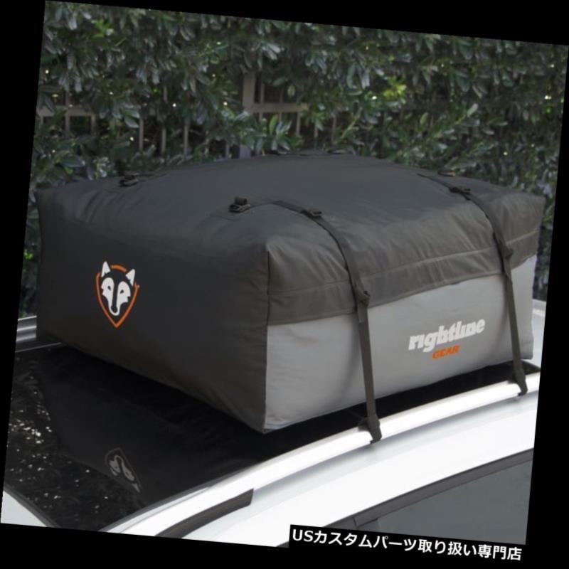 カーゴ ルーフ キャリア Rightline Gear Sport Jr Compact / Mid-Si  zeカールーフトップキャリアキャリーバッグ100S50 Rightline Gear Sport Jr Compact/Mid-Size Car Roof Top Carrier Cargo Bag 100S50