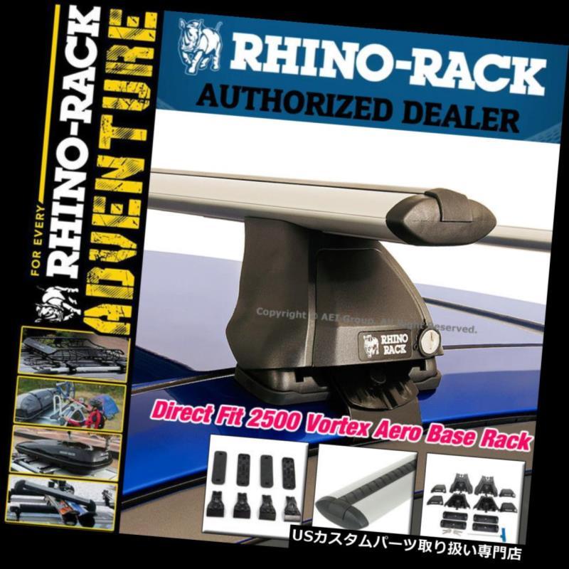 【超目玉】 カーゴ ルーフ キャリア Rhinoラック2500ボルテックスエアロダイレクトフィットルーフラックキットシルバークロスバーJA6035 Rhino Rack 2500 Vortex Aero Direct Fit Roof Rack Kit SILVER Crossbars JA6035, コンビスタイルオンライン fde88d08