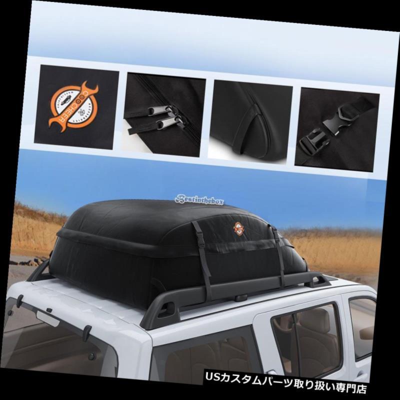 カーゴ ルーフ キャリア ポータブルカーSUVルーフトップカーゴキャリア荷物トラベル防水収納バッグUS Portable Car SUV Roof Top Cargo Carrier Luggage Travel Waterproof Storage Bag US