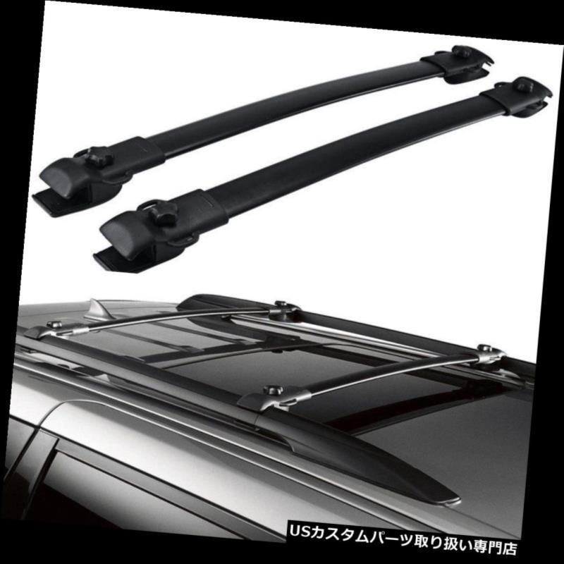 カーゴ ルーフ キャリア 2011 2012 2012 2013 2014-2017トヨタシエナルーフラックサイドレールラゲッジキャリア For 2011 2012 2013 2014-2017 Toyota Sienna Roof Rack Side Rails Luggage Carrier