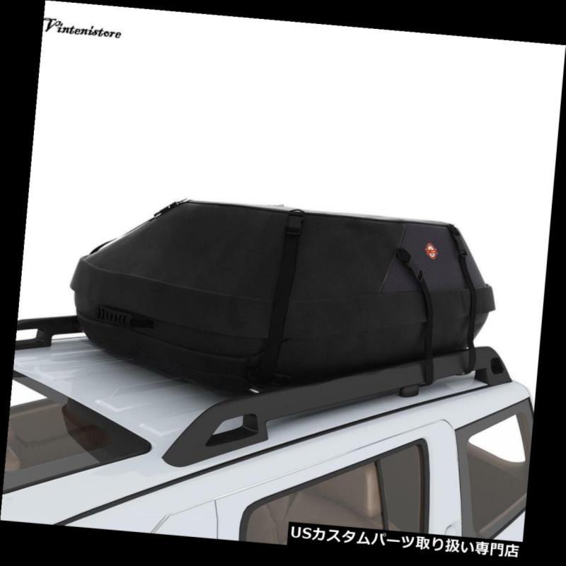 カーゴ ルーフ キャリア 携帯用車のVan Suvの屋根の上の貨物棚のキャリアの防水荷物旅行袋 Portable Car Van Suv Roof Top Cargo Rack Carrier Waterproof Luggage Travel Bag