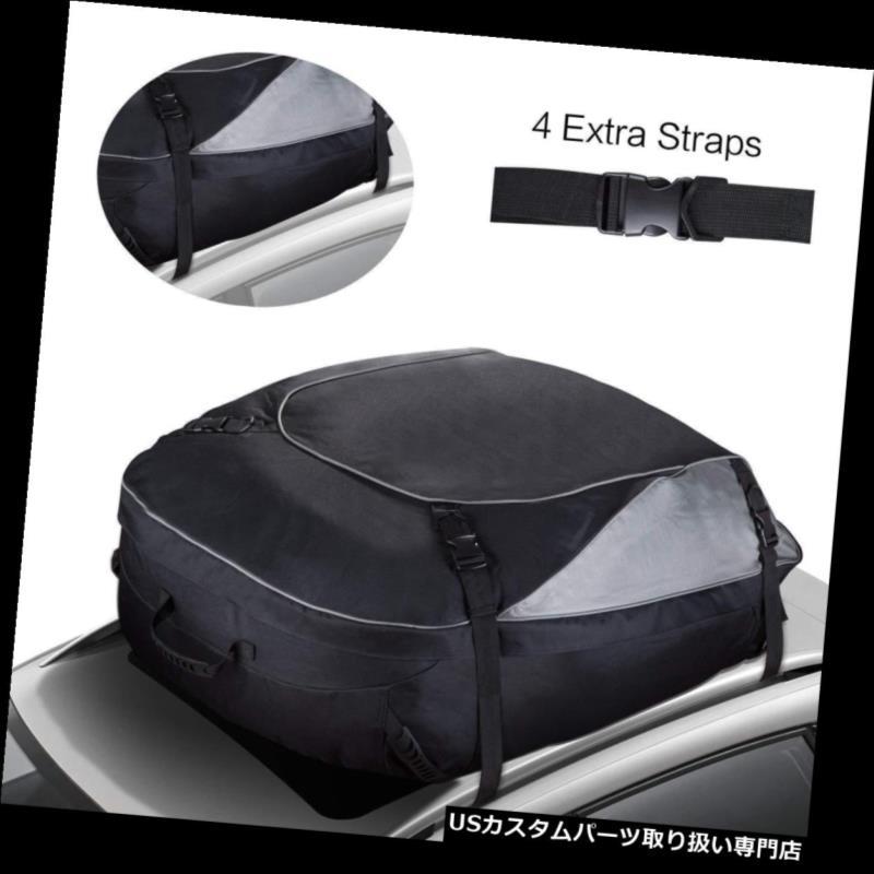 カーゴ ルーフ キャリア カーゴバッグルーフトップ耐水性 tルーフラック付きソフトキャリーバッグ Cargo Bag Roof Top Water-Resistant Soft Side Carrier Bag-Vehicles with Roof Rack