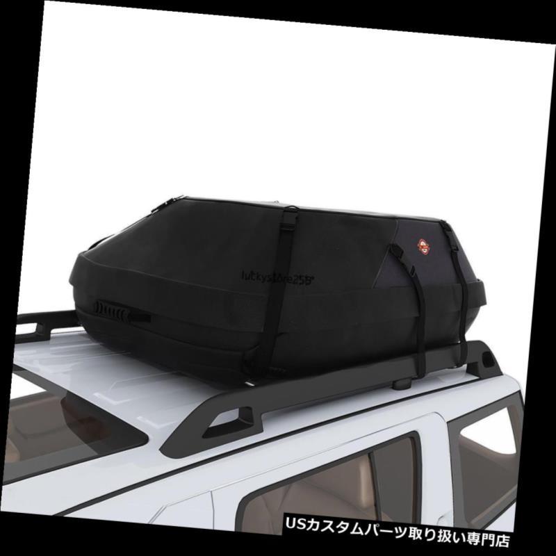 カーゴ ルーフ キャリア 車のバンSuvルーフトップ貨物ラックキャリアソフト防水荷物バッグ新しい Car Van Suv Roof Top Cargo Rack Carrier Soft-Sided Waterproof Luggage Bag New