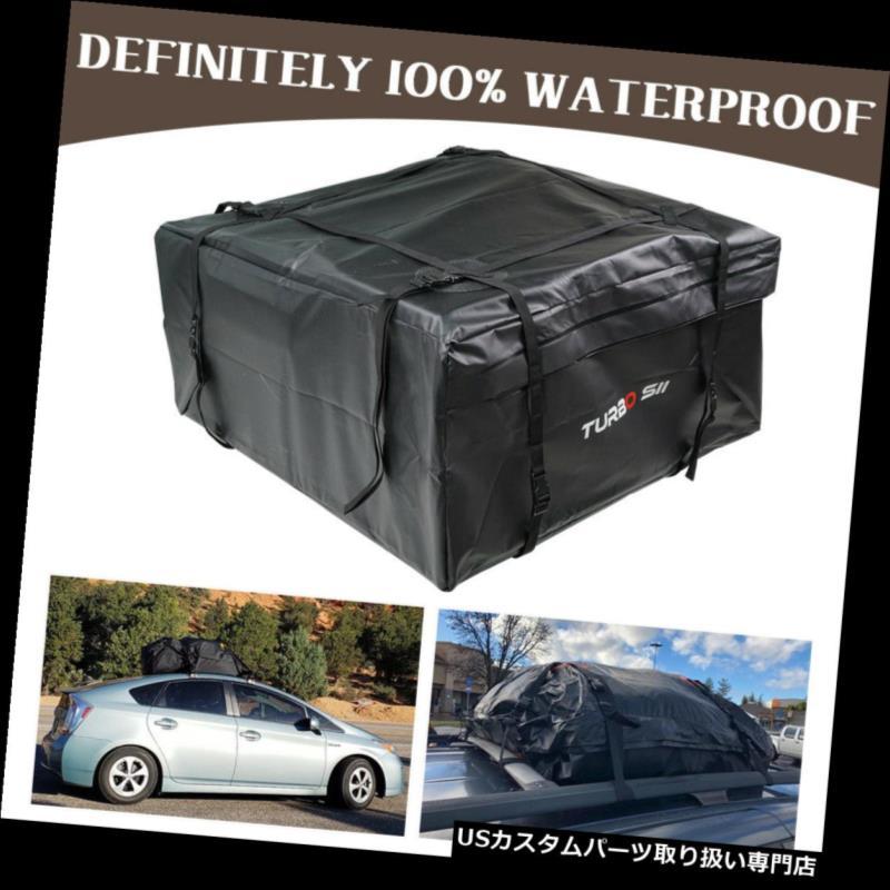 カーゴ ルーフ キャリア 車バンSUVルーフトップカーゴラックキャリアバッグ防水荷物旅行15フィート立方 Car Van SUV Roof Top Cargo Rack Carrier Bag Waterproof Luggage Travel 15ft Cubic