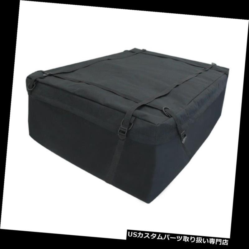カーゴ ルーフ キャリア ジープヘビーデューティ屋上貨物旅行収納袋調節可能なキャリアキット Fit Jeep Heavy-Duty Rooftop Cargo Travel Storage Bag Adjustable Carrier Kit