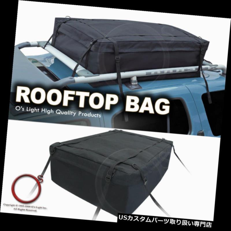 カーゴ ルーフ キャリア 09-10ジャガー屋上ブラックトラベルキャリア収納ラックバッグ軽量レインプルーフ 09-10 Jaguar Rooftop Black Travel Carrier Storage Rack Bag Lightweight Rainproof