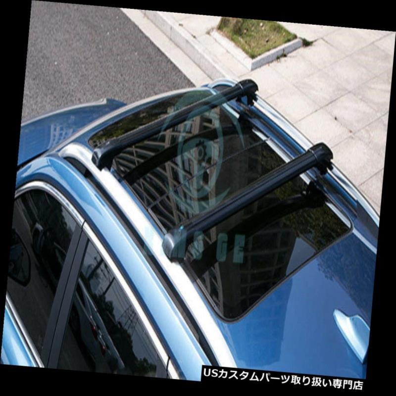 カーゴ ルーフ キャリア フォードKUGAの脱出2012-16年のための一定の合金の貨物運送人の十字バーのルーフラック板 Set Alloy Cargo Carrier Cross Bar Roof Racks Board For Ford KUGA Escape 2012-16