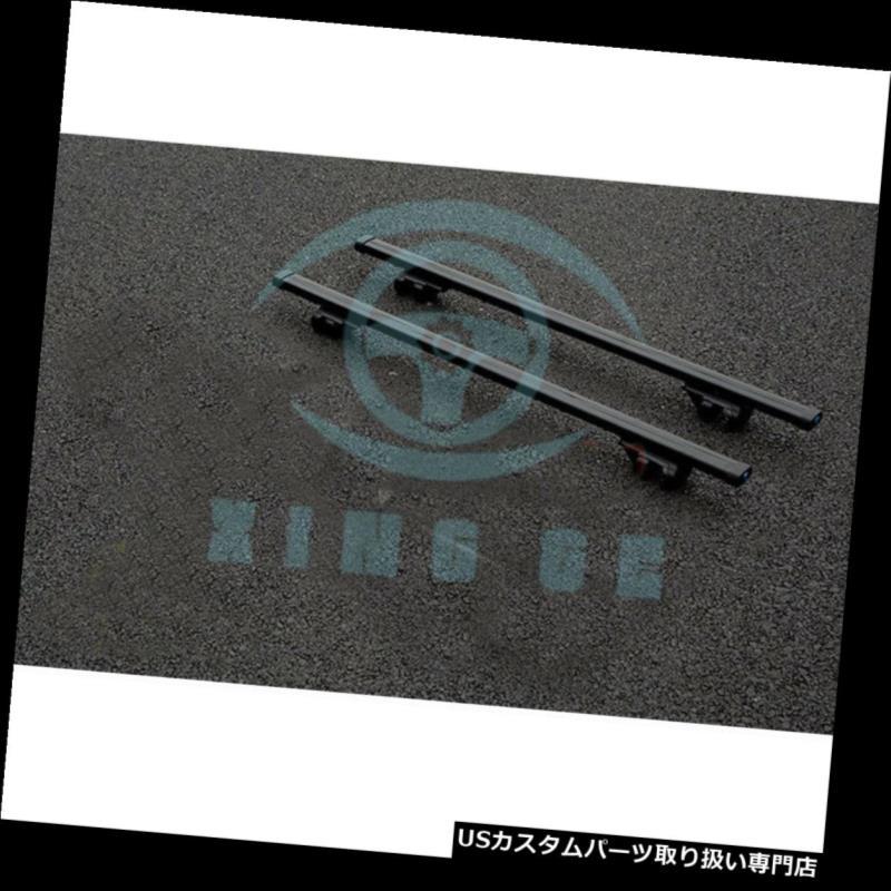 カーゴ ルーフ キャリア キャデラックSRX 2004-2014のための車の合金車の貨物運搬人の十字棒屋根の棚の黒 Car Alloy Car Cargo Carrier Cross Bar Roof Rack Black For Cadillac SRX 2004-2014