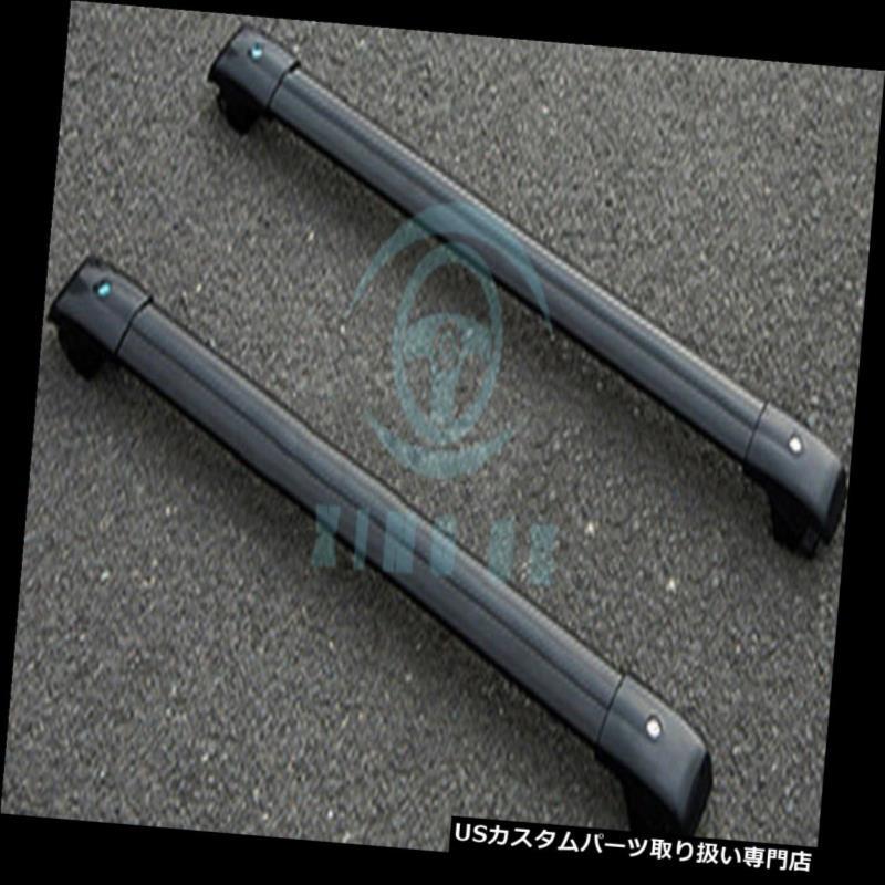 カーゴ ルーフ キャリア 日産エクストレイル2008-16年のための2本の合金貨物キャリアクロスバールーフラックシルバー 2pcs Alloy Cargo Carrier Cross Bar Roof Racks Silver For Nissan X-Trail 2008-16
