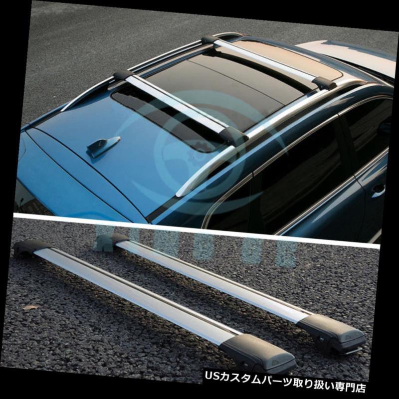 カーゴ ルーフ キャリア プジョー2008-2015年のための2pcs合金の上部の貨物運送人の十字棒屋根の棚板 2pcs Alloy Upper Cargo Carrier Cross Bar Roof Racks Board For Peugeot 2008-2015