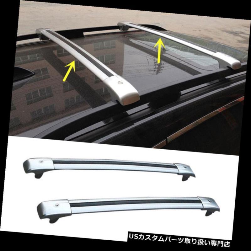 カーゴ ルーフ キャリア ジープパトリオット2007-14用アルミ貨物トップルーフラッククロスバー荷物キャリア For Jeep Patrio 2007-14 Aluminum Cargo Top Roof Racks Cross Bars Luggage Carrier
