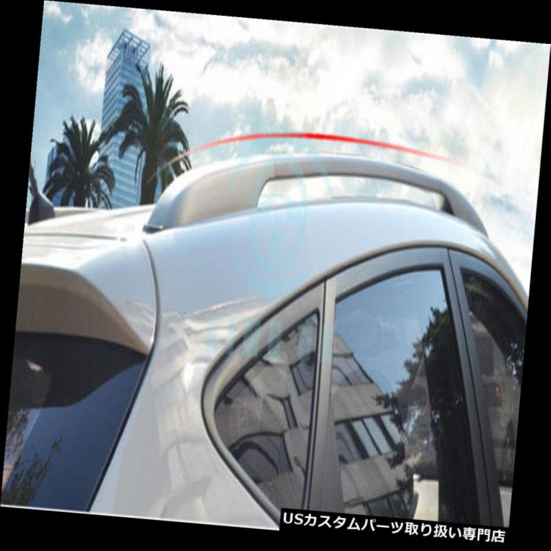 USカーゴ、ルーフ キャリア Mazda CX-5 2013-16用ブラックアロイアッパーカーゴルーフトップラックラゲッジキャリアバー Black Alloy Upper Cargo Roof Top Rack Luggage Carrier Bar For Mazda CX-5 2013-16