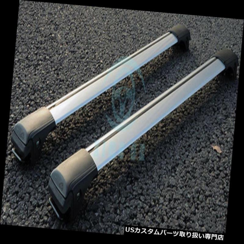 カーゴ ルーフ キャリア 2個車の合金プジョー307 2004年-2013年のアッパー貨物キャリアクロスバールーフラック 2pcs Car Alloy Upper Cargo Carrier Cross Bar Roof Rack For Peugeot 307 2004-2013