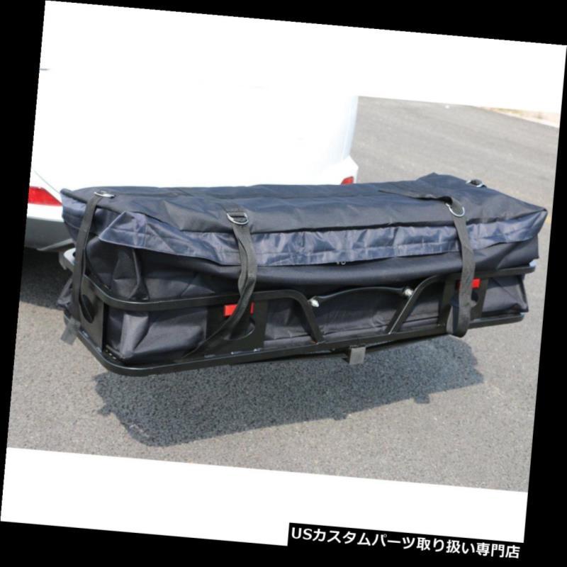 カーゴ ルーフ キャリア 自動ルーフトップラックバッグ荷物収納防水カーゴヒッチキャリアバッグ Auto Roof Top Rack Bag Luggage Storage Waterproof Cargo Hitch Carrier Bag US