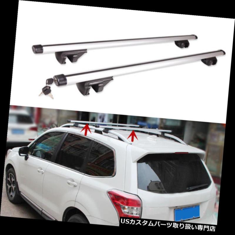 カーゴ ルーフ キャリア スバルXV 2012-2016の貨物トップルーフラッククロスバー荷物キャリアを保護する For Subaru XV 2012-2016 Cargo Top Roof Racks Cross Bars Luggage Carrier Protect