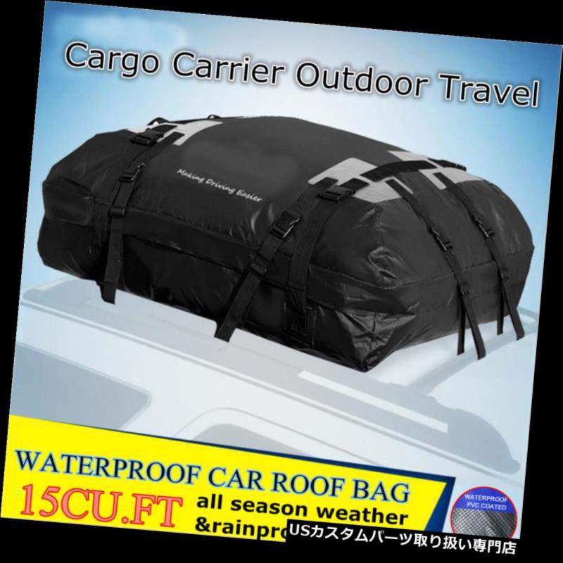 カーゴ ルーフ キャリア ユニバーサルカーカーゴ防水ルーフトップラックキャリアバッグ収納荷物旅行 Universal Car Cargo Waterproof Roof Top Rack Carrier Bag Storage Luggage Travel