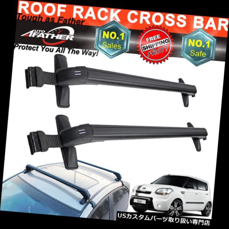 カーゴ ルーフ キャリア 起亜オプティマフォード車の屋根クロスバー荷物貨物キャリアラック調整可能 For Kia Optima Ford Car Roof Cross Bars Luggage Cargo Carrier Rack Adjustable
