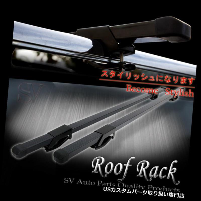 カーゴ ルーフ キャリア ジープスクエアカールーフトップレールラッククロスバー互換性のあるカヤックスキーバイクキャリア JEEP SQUARE CAR ROOF TOP RAIL RACK CROSSBARS COMPATIBLE KAYAK SKI BIKE CARRIER