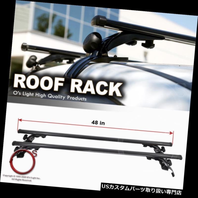 カーゴ ルーフ キャリア セダン/ハッチバック k /クーペ/ワゴンルーフトップレールレスクロスバーラックキャリアクロスバー Sedan/Hatchback/Coupe/Wagon Roof Top Rail-Less Crossbar Rack Carrier Cross Bars