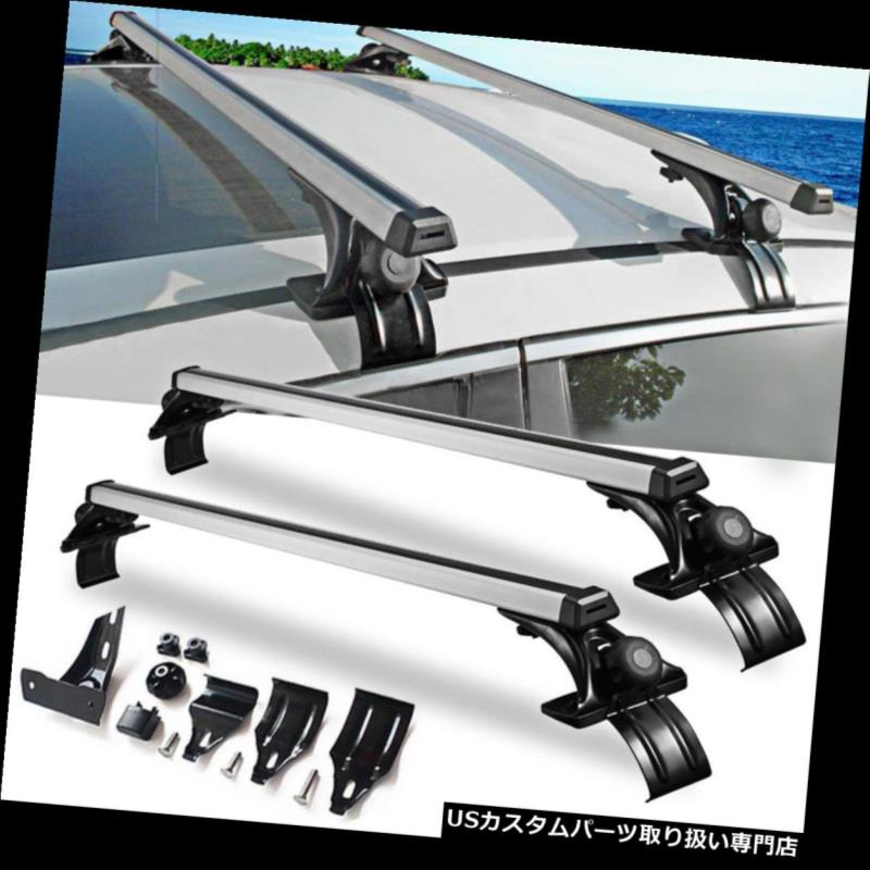 Universal Car Top Roof Cross Bar Luggage Cargo Carrier Rack SUV w// 3 Kinds Clamp