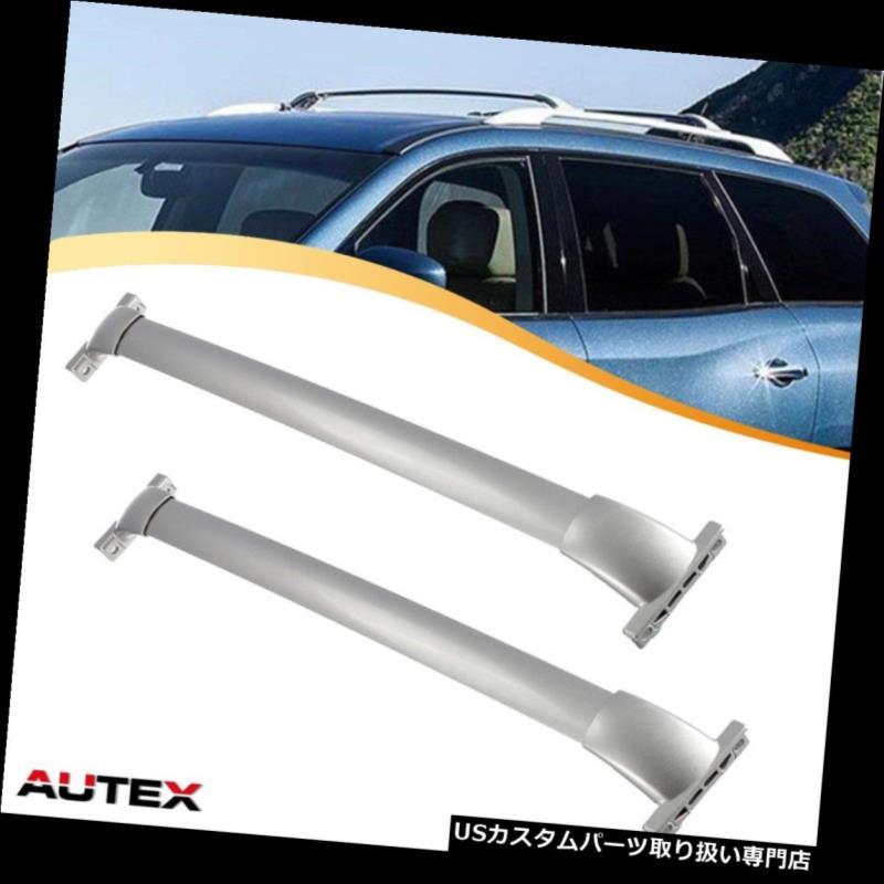 カーゴ ルーフ キャリア 13-16日産パスファインダー用アルミクロスバールーフラック貨物キャリアレールラック Aluminum Cross Bar Roof Rack Cargo Carrier Rail Rack for 13-16 Nissan Pathfinder