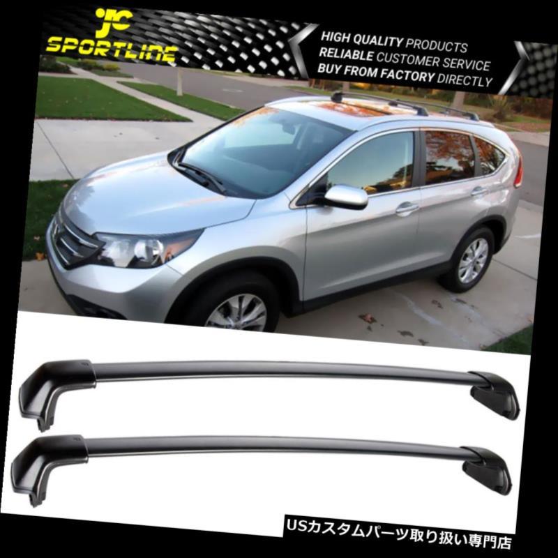 カーゴ ルーフ キャリア フィット12-16ホンダCRV CR-Vトップルーフラッククロスバークロスバーペアトレイルバー Fits 12-16 Honda CRV CR-V Top Roof Rack Cross Bars CrossBars Pair Trail Bar