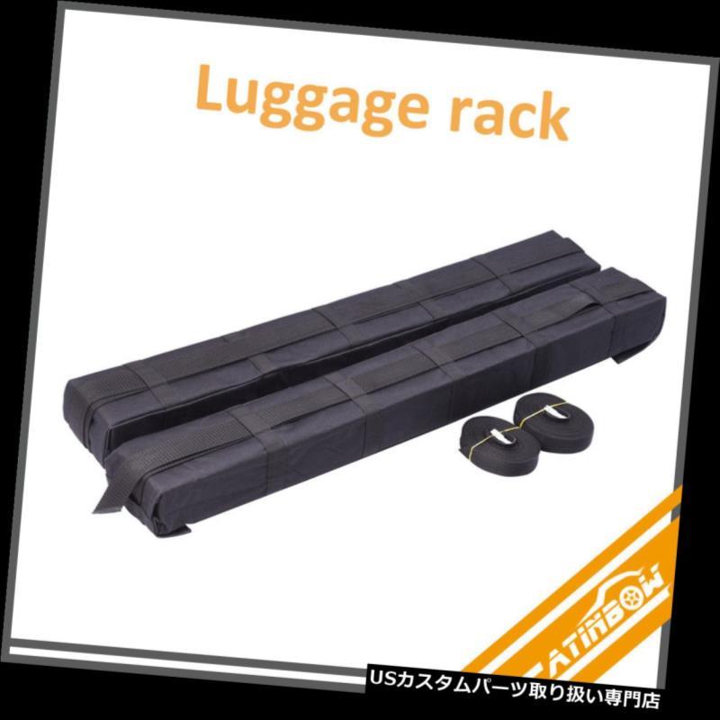 カーゴ ルーフ キャリア ユニバーサルカールーフトップカーゴ収納ラック荷物キャリアソフトイージーラックSUV# Universal Car Roof Top Cargo Storage Rack Luggage Carrier Soft Easy Rack SUV #