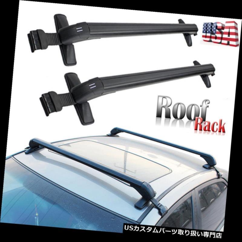 カーゴ ルーフ キャリア ルーフラッククロスバーカーゴキャリアw車用ユニバーサル盗難防止ロックシステムSUV Roof Rack Cross Bar Cargo Carrier w Anti-theft Lock System Universal For Car SUV