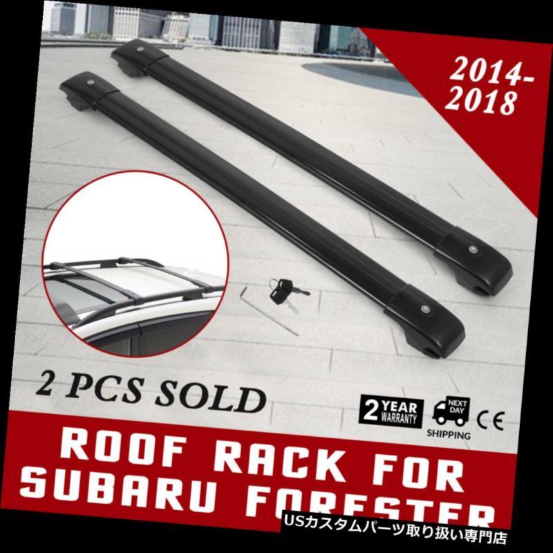 カーゴ ルーフ キャリア スバルフォレスタークロスバールーフラック2014-2018キャリア貨物バー収納 Roof Rack For Subaru Forester Cross Bars 2014-2018 Carrier Cargo bar Storage
