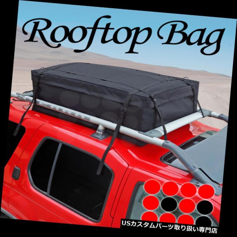 カーゴ ルーフ キャリア 05-14ジープBlkルーフトップ荷物収納キャリア防水サイドレールバッグ 05-14 Jeep Blk Roof Top Luggage Storage Carrier Water Resistant Side Rail Bag