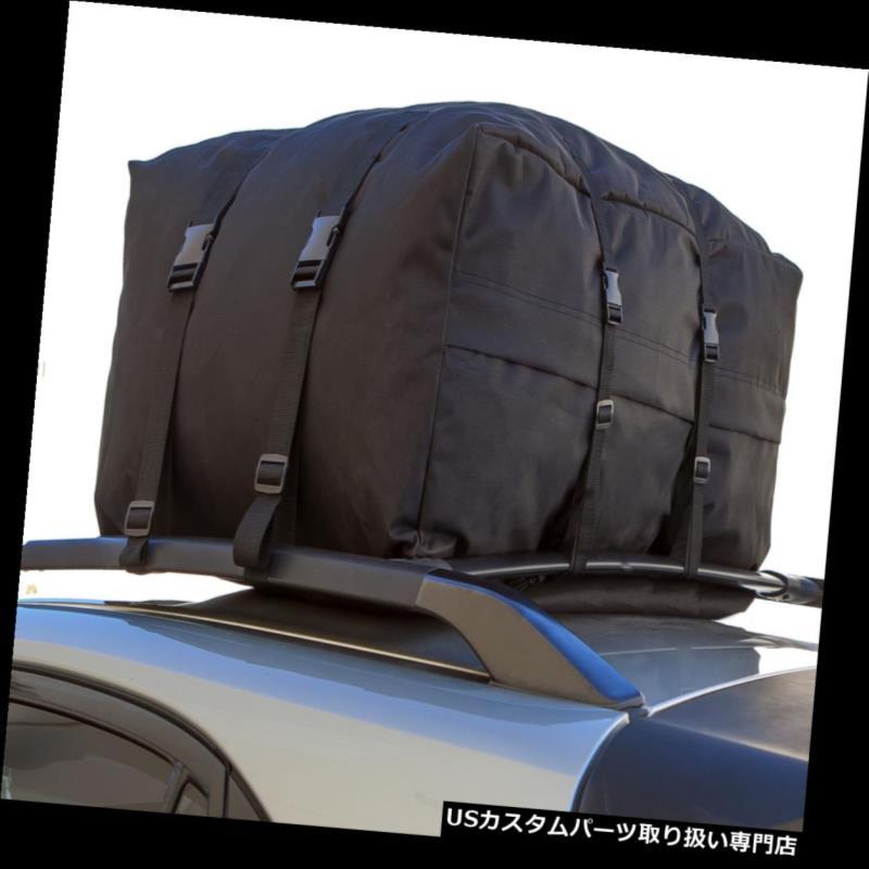 カーゴ ルーフ キャリア ルーフトップカーゴラックキャリアソフトパッド入り防水荷物トラベルカーSUVバン Roof Top Cargo Rack Carrier Soft Padded Waterproof Luggage Travel CAR SUV VAN