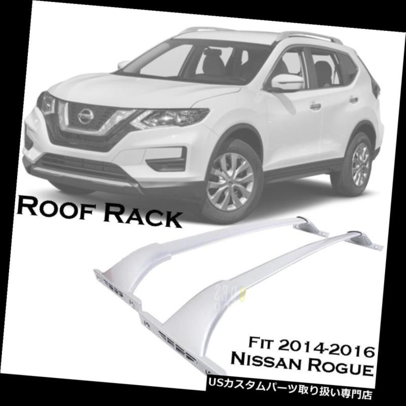 カーゴ ルーフ キャリア 2014-2018日産ローグOEスタイルルーフラッククロスバー荷物貨物キャリア For 2014-2018 Nissan Rogue OE Style Roof Rack Cross Bar Luggage Cargo Carrier