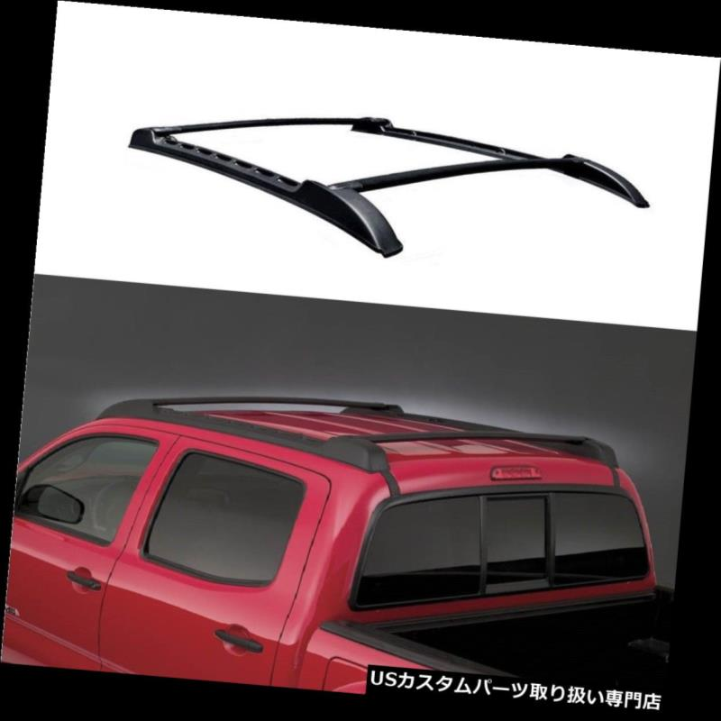 カーゴ ルーフ キャリア 車の荷物ルーフラックレール60.6 '×1.6' 'クロスバーフィットトヨタタコマ09-18 Car Luggage Roof Rack Rail 60.6''x1.6'' Cross Bars Fit For Toyota Tacoma 09-18