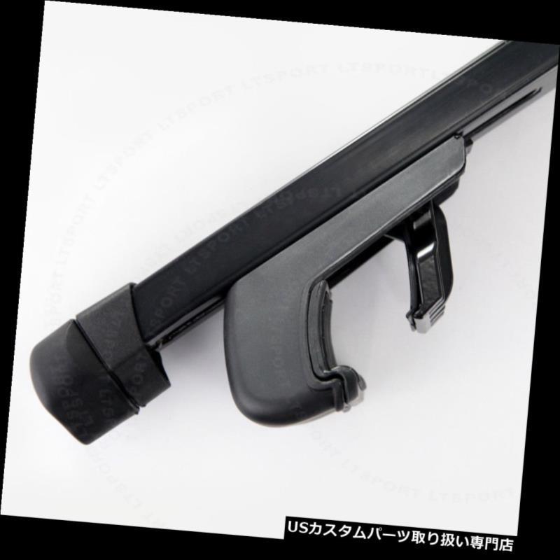 カーゴ ルーフ キャリア 04-10 CADILLAC SRXヘビーデューティスチールルーフラック48インチクロスバーカーゴキャリア Fit 04-10 CADILLAC SRX Heavy-Duty Steel Roof Rack 48