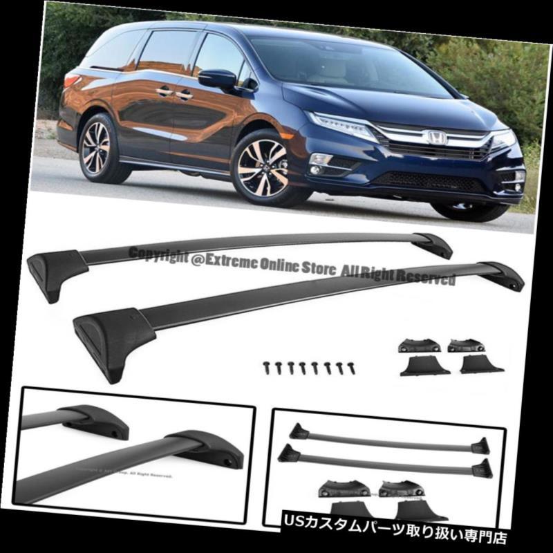 カーゴ ルーフ キャリア 18アップホンダオデッセイファクトリーGMルーフバイクラッククロスバー荷物キャリア For 18-Up Honda Odyssey Factory GM Roof Bike Rack Cross Bar Luggage Carrier